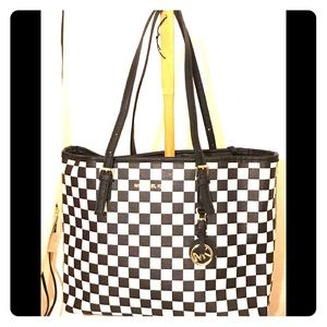 Black and white Michael Kors